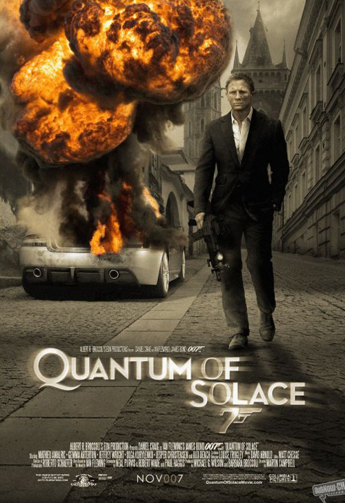Quantum of Solace Scri...