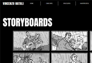 Vincenzo Natali Website